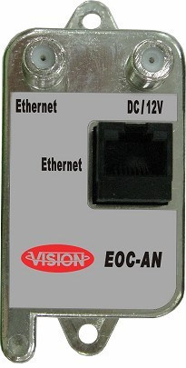 Ethernet over Coax active converter