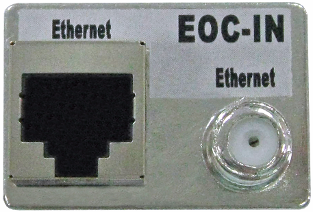 Ethernet over Coax passive converter